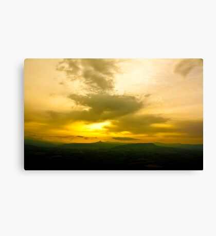 Newport County Sunset Canvas Print