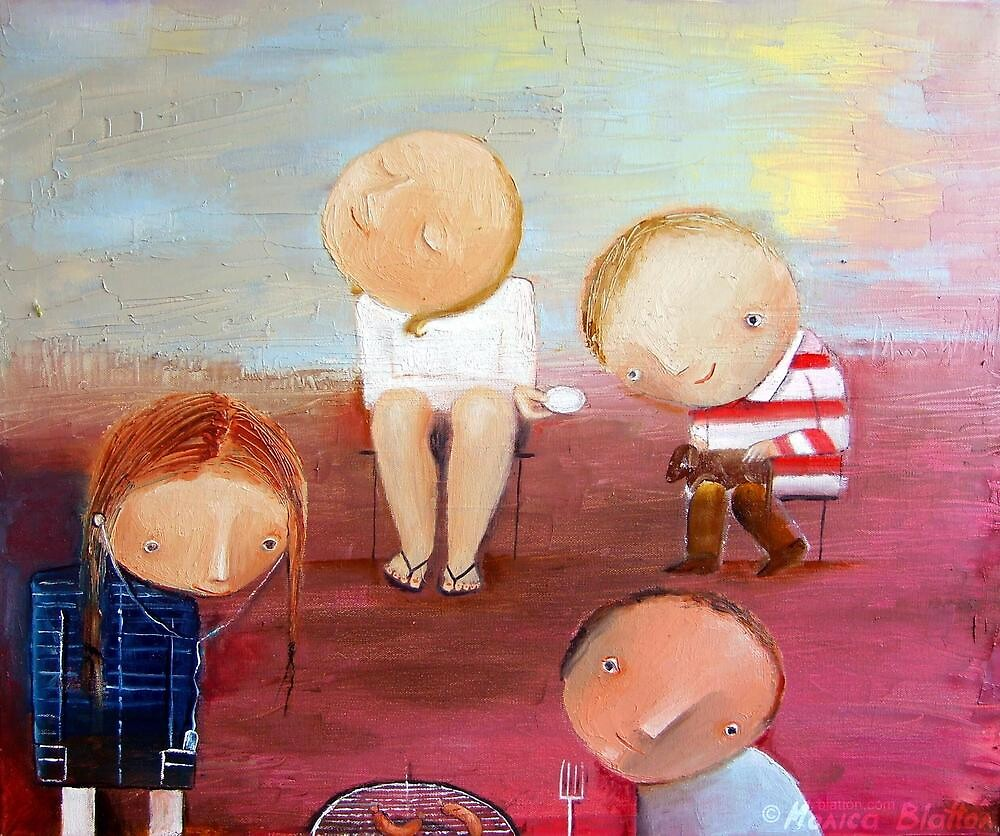 Family Picnic by Monica Blatton