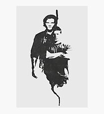 Supernatural sam/dean Photographic Print