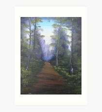"""""""Forest Path""""  by Carter L. Shepard Art Print"""