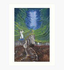 """Restoration""  by Carter L. Shepard Art Print"
