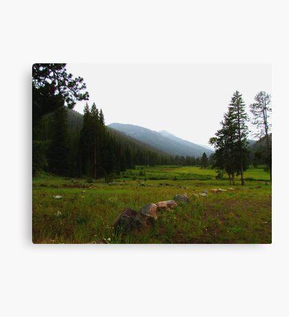 Baker Creek Campsite #32 Canvas Print