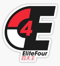 EliteFour Sticker