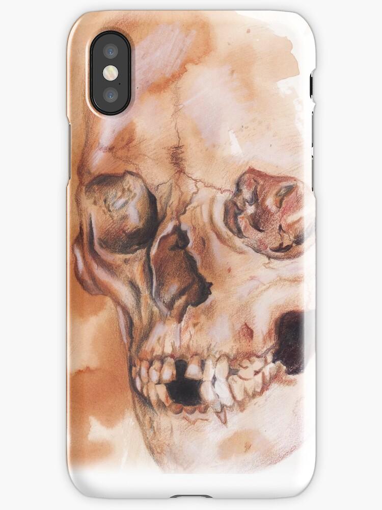 a skull  by deedeedee123