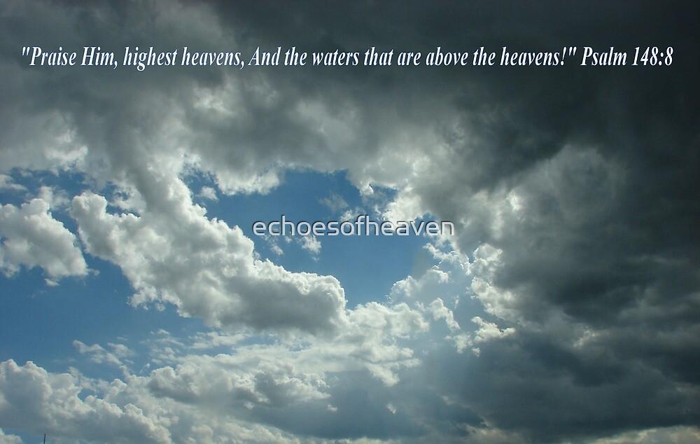 """""""Psalm 148:8""""  by Carter L. Shepard by echoesofheaven"""