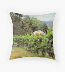 Vineyard View Throw Pillow