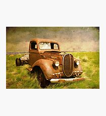 Two Ton Truck Photographic Print