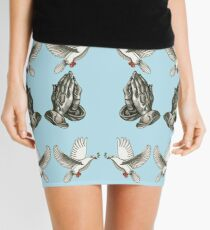 Religious Tattoo Flash   Mini Skirt