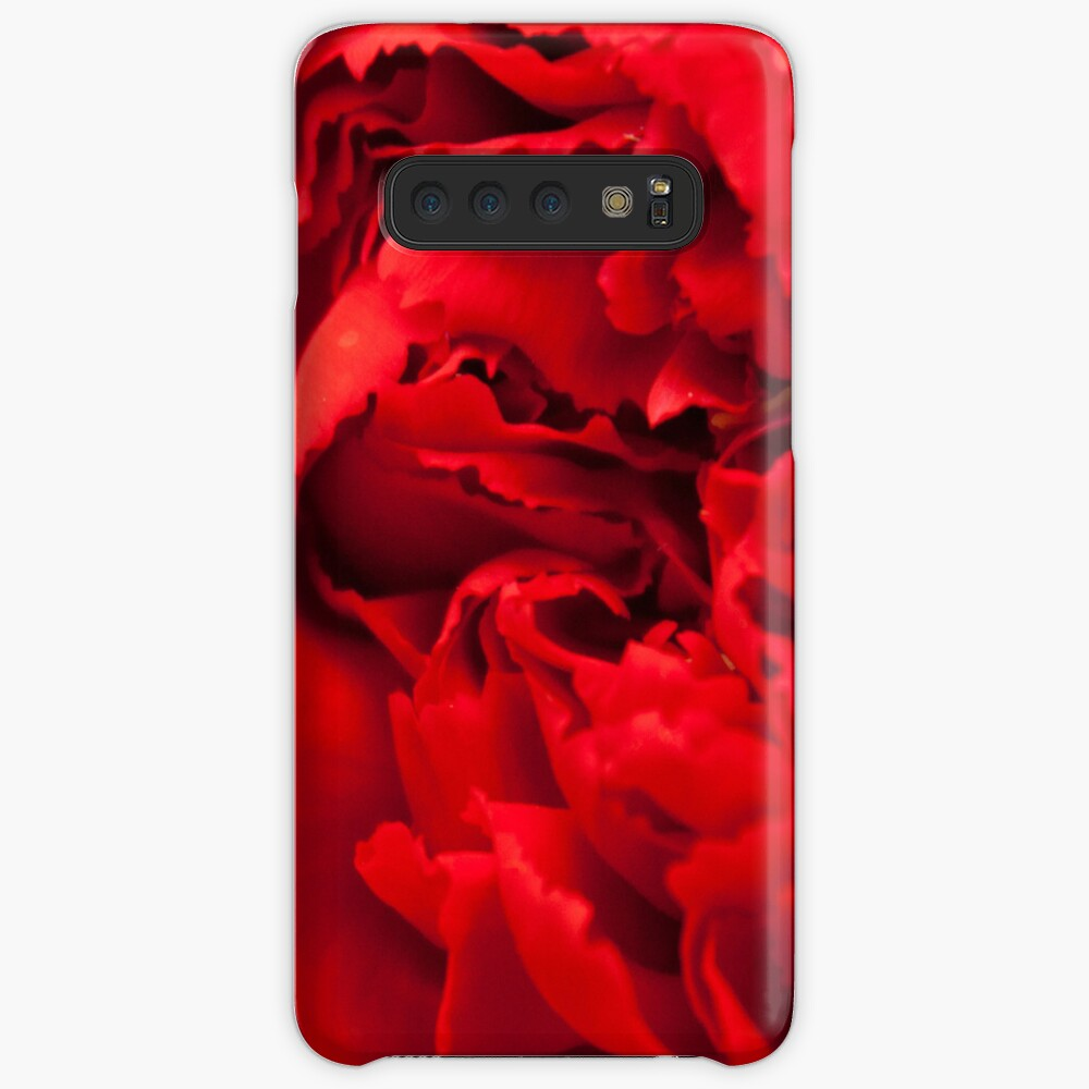 Bold Red Samsung Galaxy Snap Case