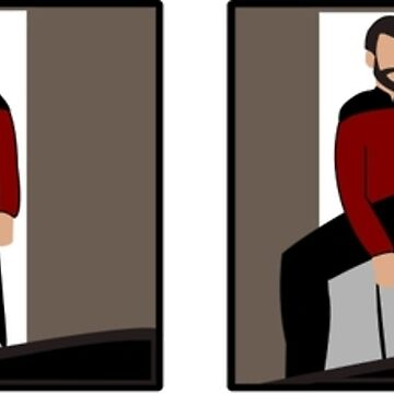 The Riker Maneuver (Sitting In Chair) by beerhamster
