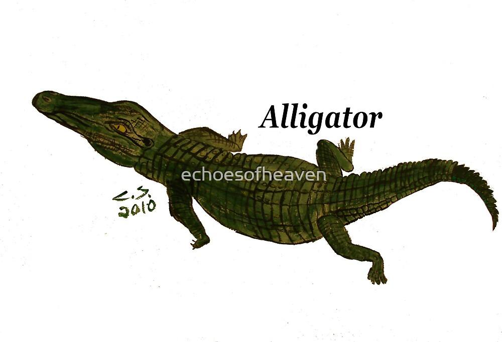 """""""Aligator""""  by Carter L. Shepard by echoesofheaven"""