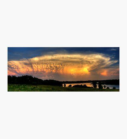 Sunset Cloud Photographic Print