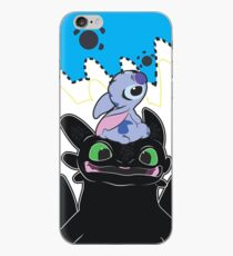 Stitch and Toothless iPhone Case