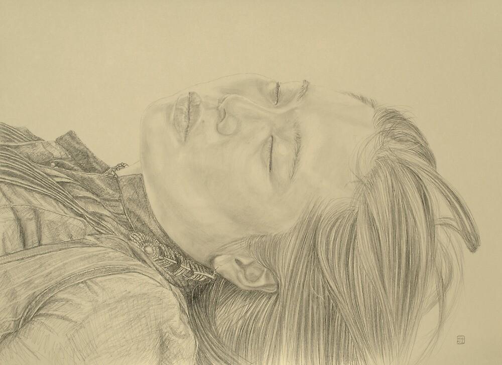Cassandra Sketch 2 by modernlifeform