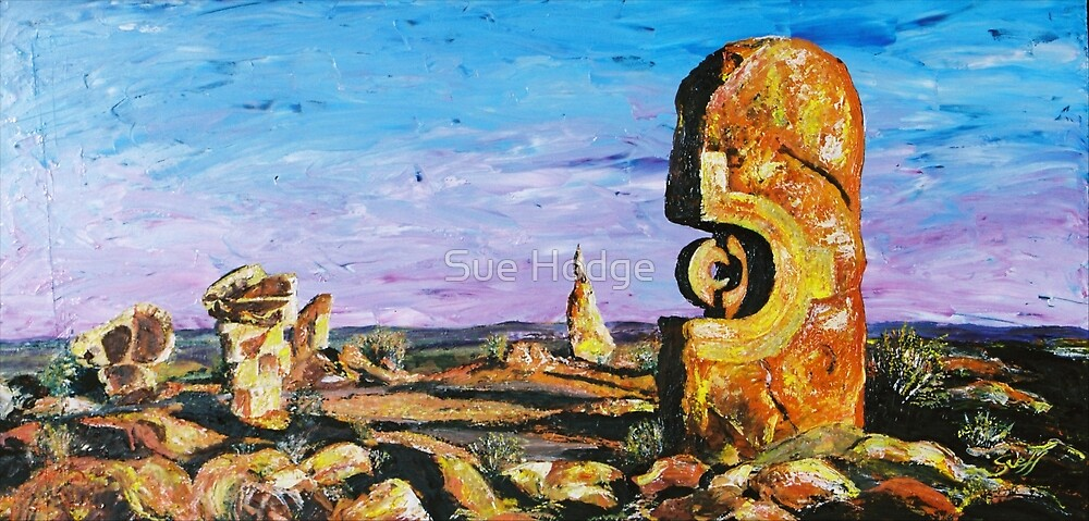 Sculptures - Pallet Knife by Sue Hodge