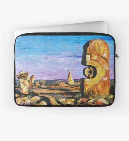 Sculptures - Pallet Knife Laptop Sleeve