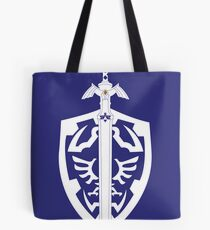 Sword & Shield Tote Bag