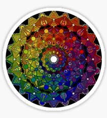 Mandala 46 T-Shirts, Hoodies and Stickers and cases - Jim Gogarty Sticker