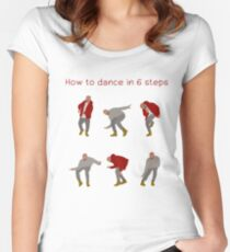 How To Dance With Style In 6 Steps Women's Fitted Scoop T-Shirt