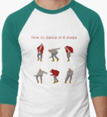 How To Dance With Style In 6 Steps Men's Baseball ¾ T-Shirt