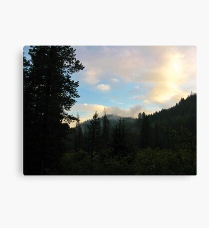 Dedicated to all of My Friends-Last Night of ACT 2 Canvas Print