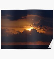 Dramatic Sunset Sequences IV - Sequencias de una dramatica Puesta del Sol Poster