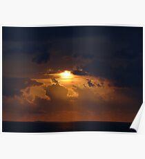 Dramatic Sunset Sequences II - Sequencias de una dramatica Puesta del Sol Poster
