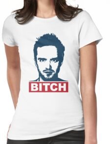 BREAKING BAD JESSE PINKMAN BITCH Womens Fitted T-Shirt