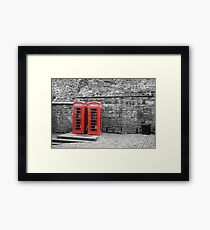 Ring Ring Framed Print