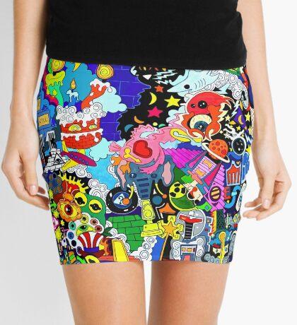 Gorilla Radio Mini Skirt