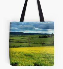 The yellow mystery Tote Bag