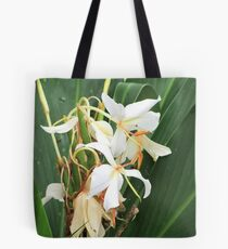 Butterfly ginger lily Tote Bag