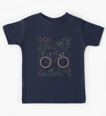 Love Fixie Road Bike Kids Tee