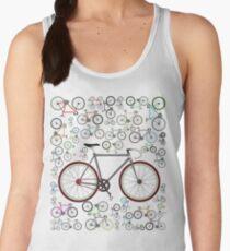 Love Fixie Road Bike Women's Tank Top