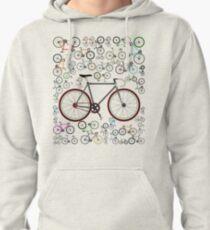 Love Fixie Road Bike Pullover Hoodie