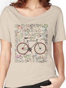 Love Fixie Road Bike Women's Relaxed Fit T-Shirt
