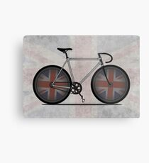British Cycling is Brilliant Metal Print