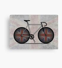 British Cycling is Brilliant Canvas Print