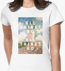 all things go Women's Fitted T-Shirt