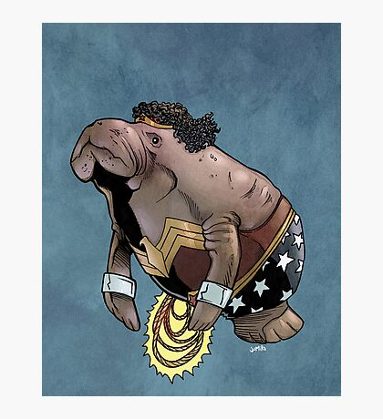 Wonder Womanatee SALE! Photographic Print
