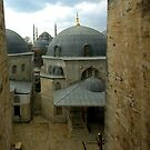 Blue Mosque from the Hagia Sophia by berndt2