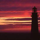 Yaquina Head Sunset by jschwab