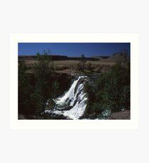 White River Falls - Eastern Oregon Art Print