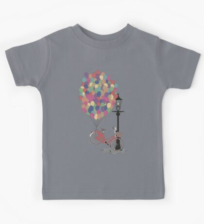 Love to Ride my Bike with Balloons even if it's not practical. Kids Clothes
