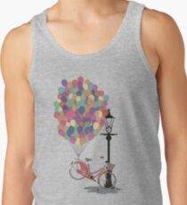 Love to Ride my Bike with Balloons even if it's not practical. Tank Top