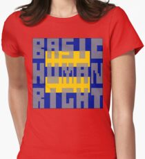 Basic Human Right Women's Fitted T-Shirt