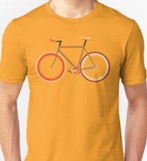 Bike ~ Fixie Warm Fall Colors T-Shirt