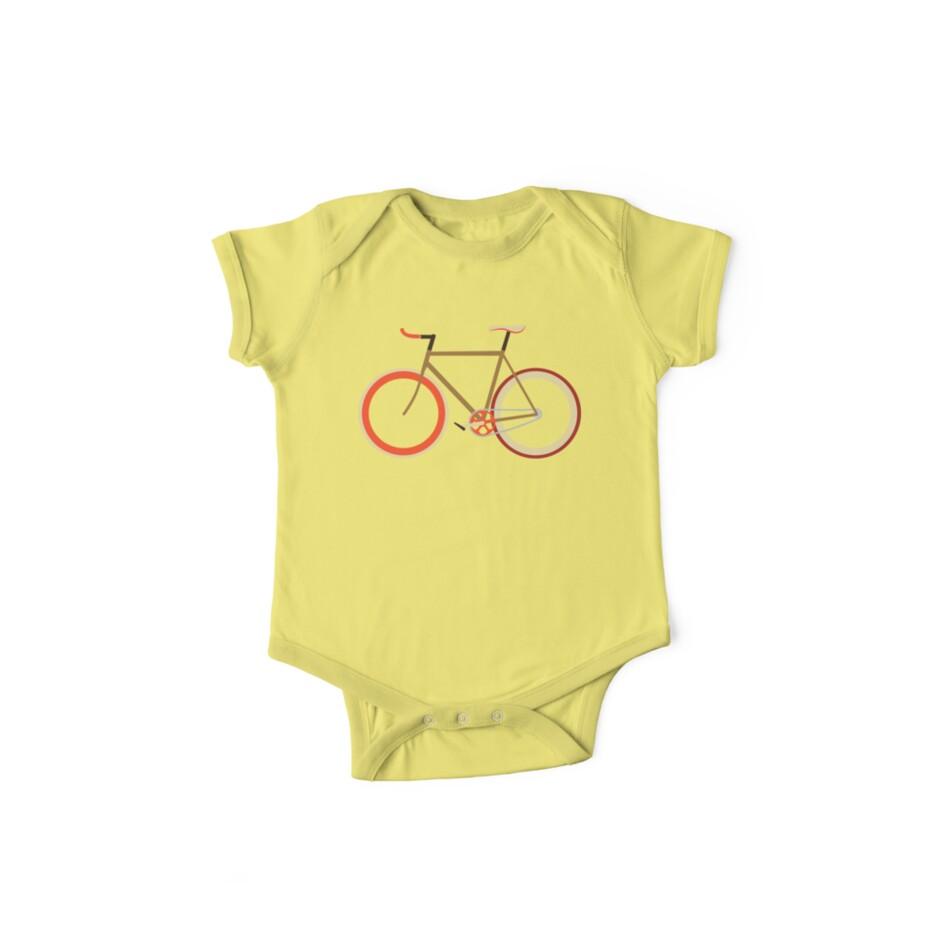 Bike ~ Fixie Warm Fall Colors by hmx23