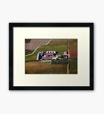 Italian Dairy Farm Framed Print