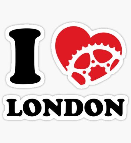 I Ride London Sticker